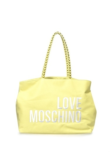 Love Moschino Love Moschino Shopper Çanta Sarı